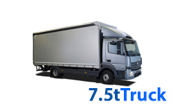 7.5 Tonne Truck Hire Edinburgh